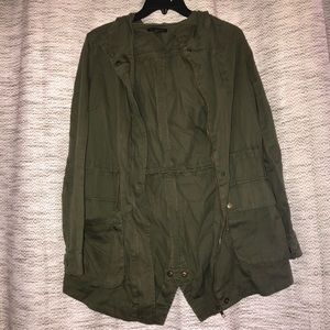 Oversized Army cargo jacket